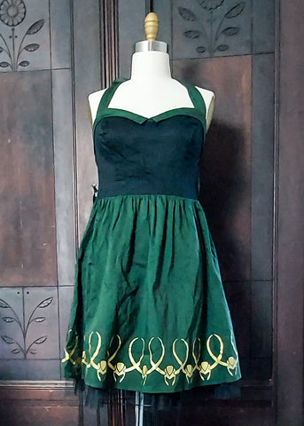 Limited Edition Dapper Loki Halter Dress (Large)