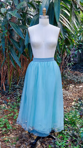 Sea Foam Tulle Skirt (Large)