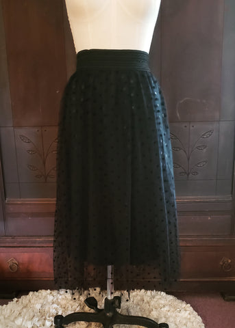 Black Tulle Skirt (Large)
