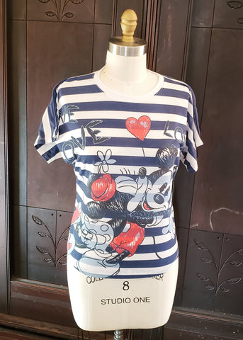 Mickey & Minnie Shirt (Small)