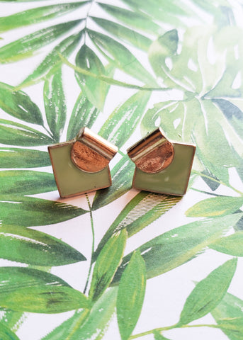 Minty Stud Earrings