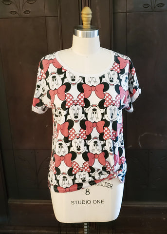 All-over Minnie Mouse T-shirt (XL)