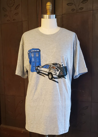 Time Machine T-shirt (Large)
