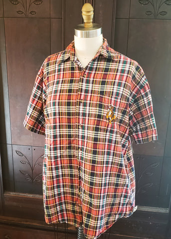 Vintage Tigger Pocket Button-Up (XL)