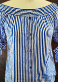 Smee's Striped Button-down (Large)