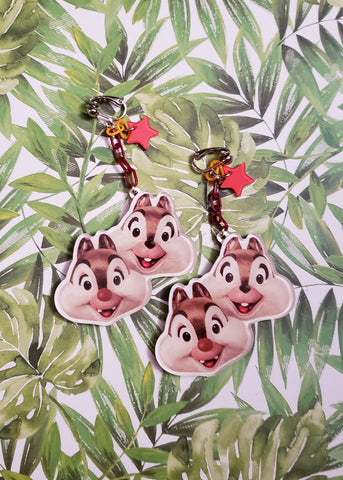 Chip & Dale Clip-on Earrings