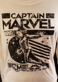 Captain Marvel Crop (XL)