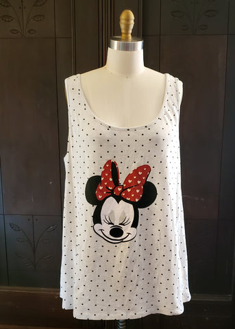 Minnie Mouse Tank (XXL)