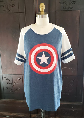 Captain America Raglan (Large)