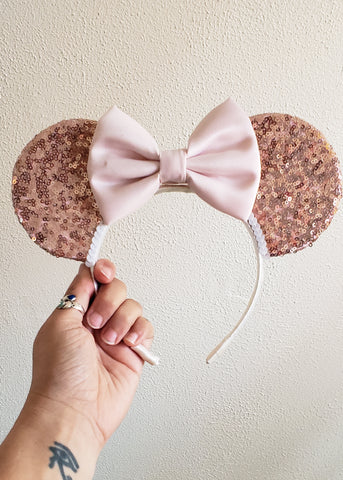 Rose Gold Mouse Ears