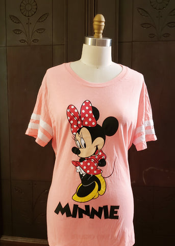 Sporty Minnie Mouse T-shirt (1X)