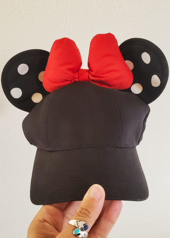 Minnie Mouse Hat with Ears