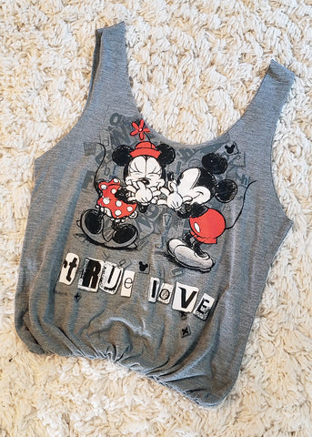 Slouchy Mickey & Minnie T-shirt Tote Bag