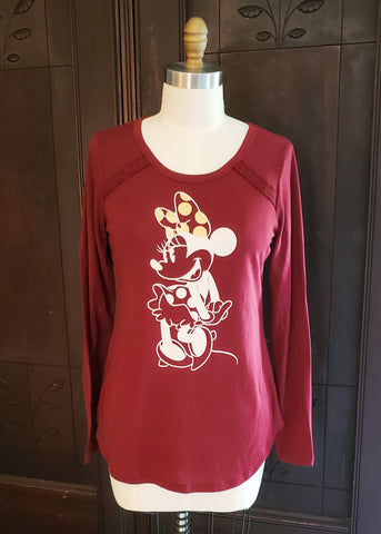 Long Sleeve Minnie Shirt (Medium)