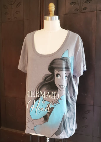 """Mermaid at Heart"" T-shirt (2XL)"