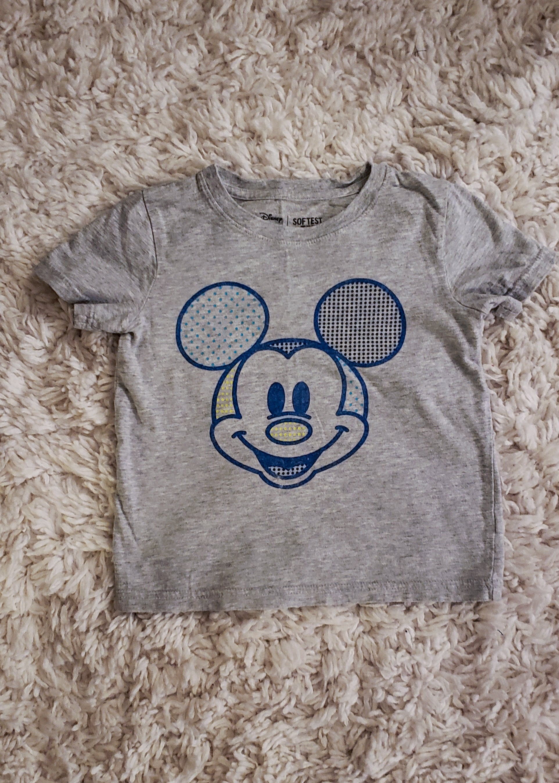 Mickey Mouse Shirt (4T)
