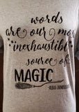 Dumbledore Quote T-shirt (Small)