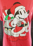 Santa Mickey Mouse T-shirt (Medium)