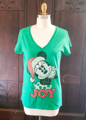 Christmas Minnie Mouse T-shirt (XXL)