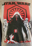 Kylo Ren Short Sleeve Hoodie T-shirt (Medium)