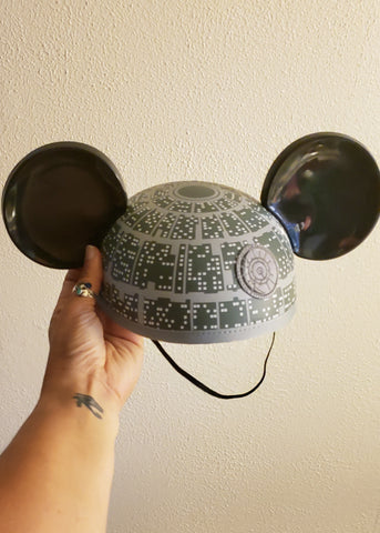 Death Star Mickey Ears Hat (Adult)