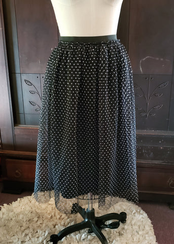 Dotted Tulle Skirt (18-20W)
