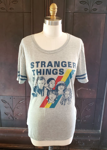 Sporty Stranger Things T-shirt (XL)