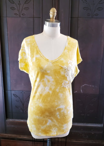 Belle's Tie Dye Rose Shirt (Medium)