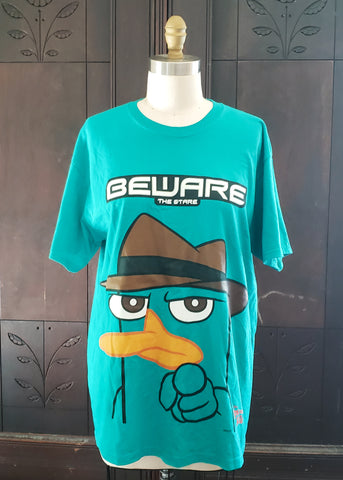 Perry the Platypus T-shirt (Large)