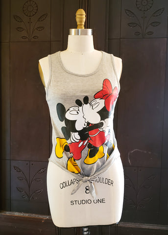 Mickey & Minnie Kissing Tank (Small)
