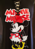 Minnie Mouse Lace-up Tank Top (Large)