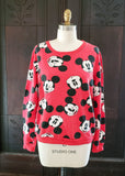 Mickey Mouse All-Over Sweatshirt (Large)