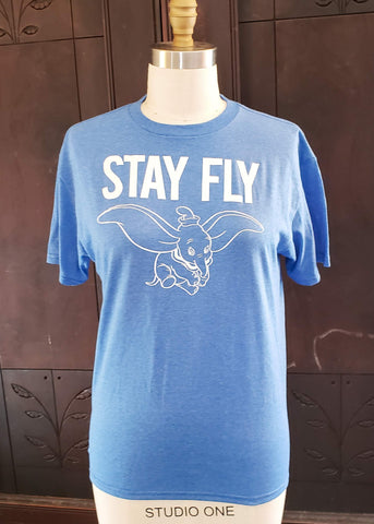 """Stay Fly"" Dumbo T-shirt (Large)"