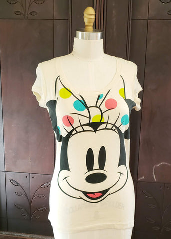 Minnie Mouse Fitted T-shirt (Medium)