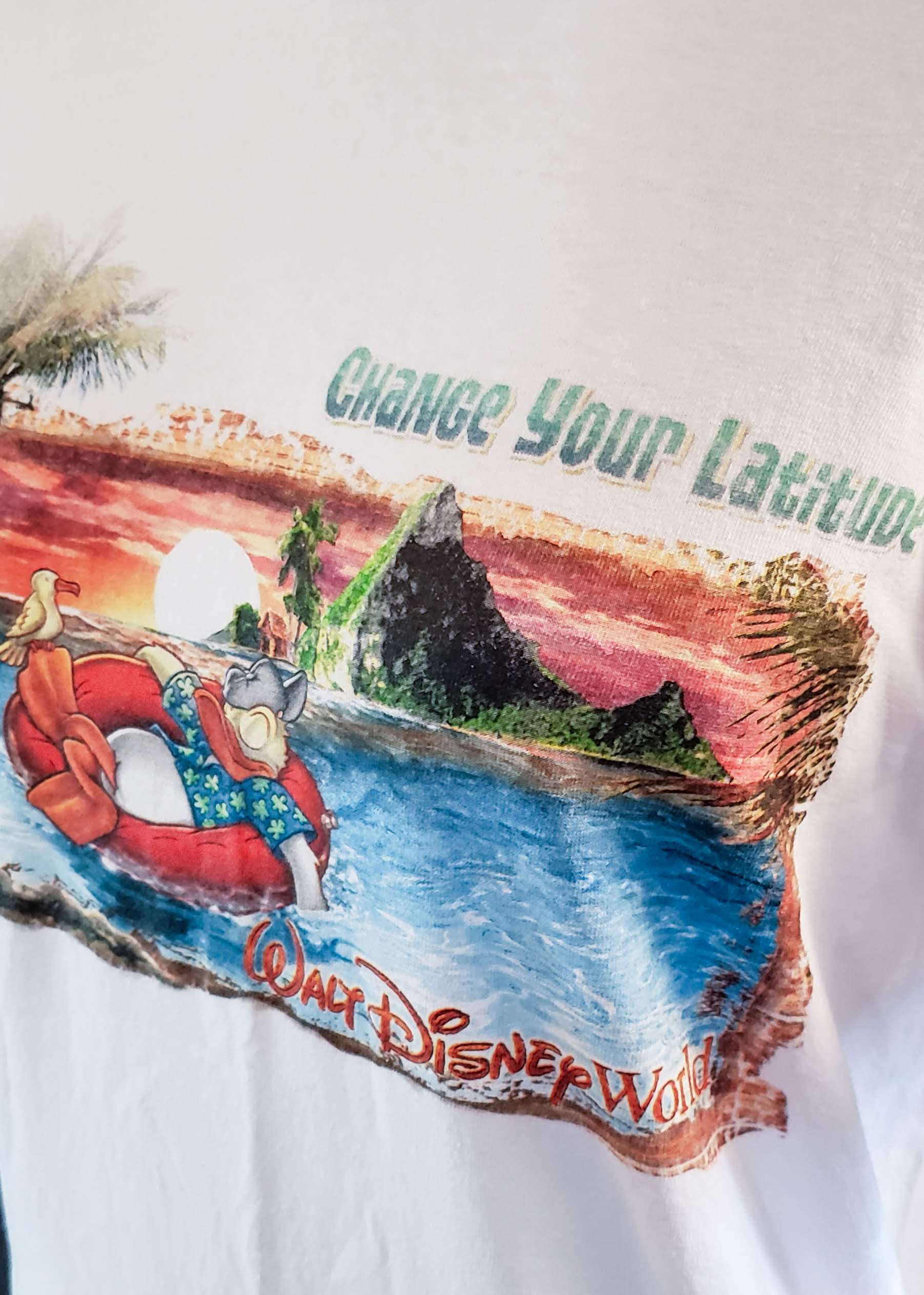 """Change Your Latitude"" T-shirt (Medium)"