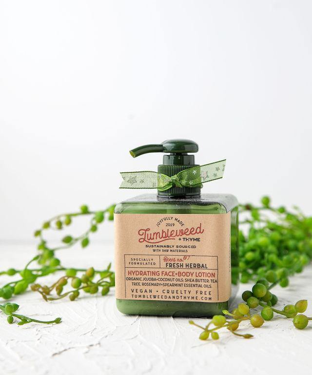 Tumbleweed + Thyme Hydrating Face + Body Lotion