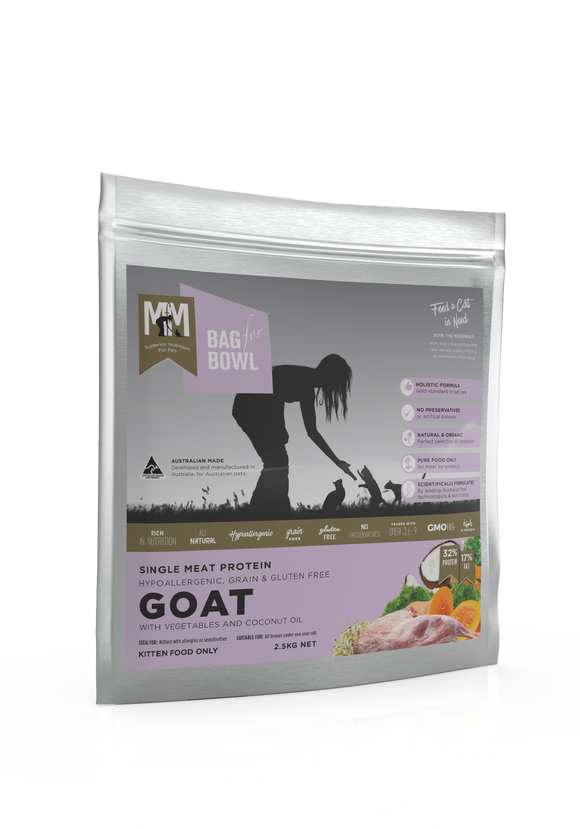 Meals for Meows Kitten - Single Protein Goat