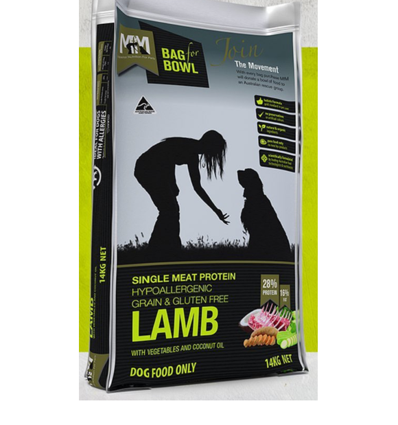 Meals for Mutts Single Protein - Lamb