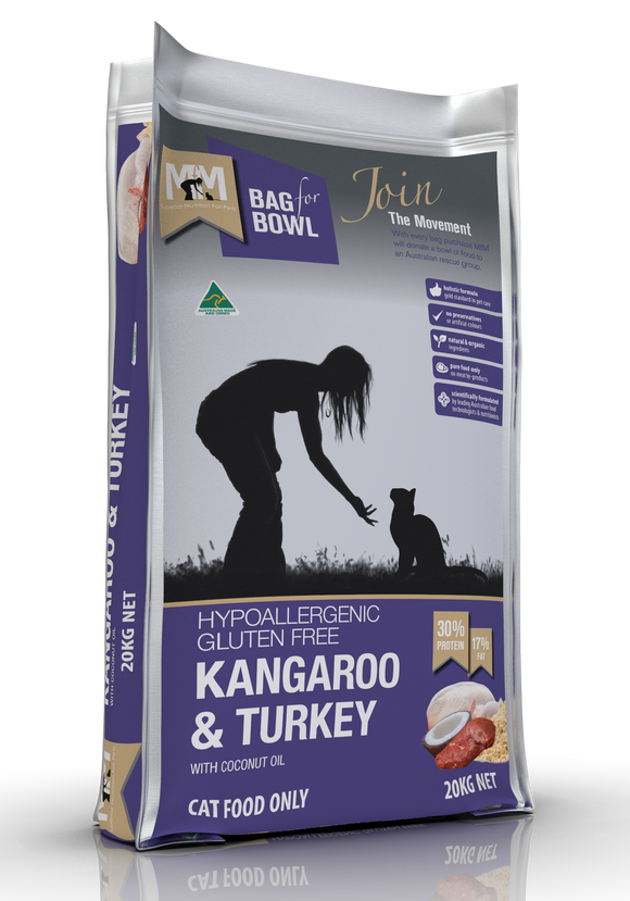 Meals for Meows Cat - Kangaroo & Turkey