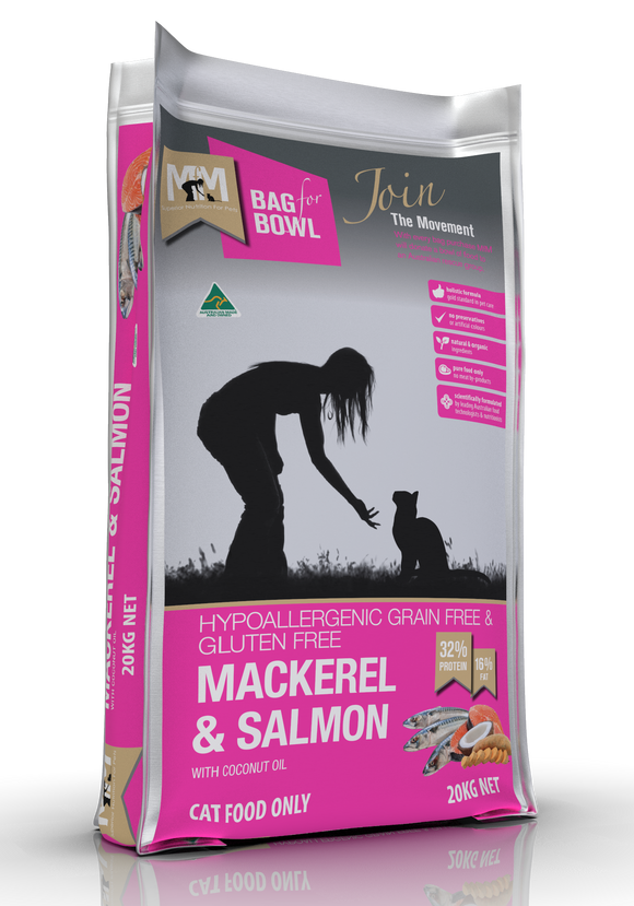 Meals for Meows Cat - Mackerel & Salmon