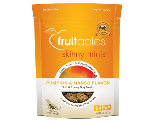 Fruitables Chewy Dog Treat - Pumpkin & Mango