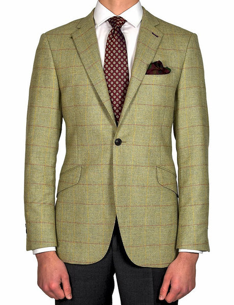 Beige Tweed Jacket - MARK STEPHEN