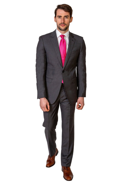 Charcoal Grey Suit - MARK STEPHEN