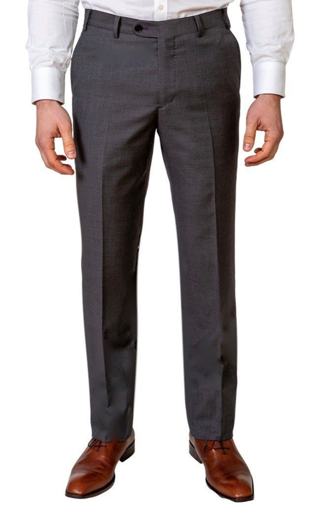 Charcoal Grey Trousers - MARK STEPHEN