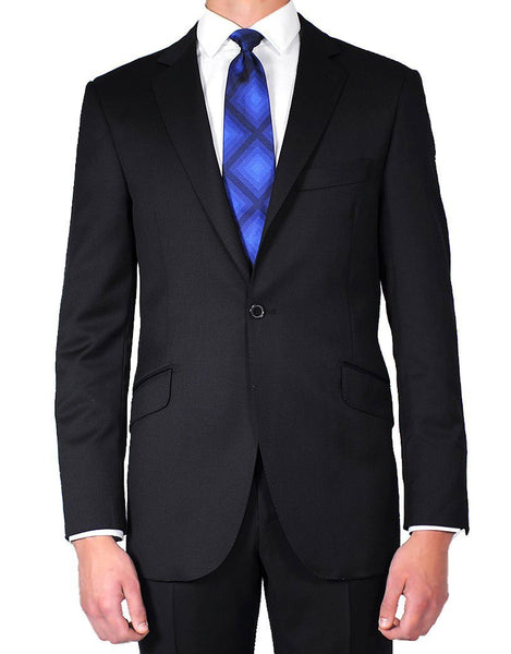 Deep Navy Plain Suit - MARK STEPHEN