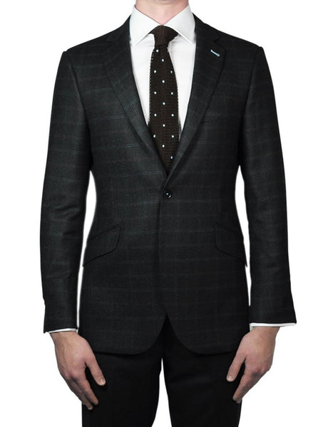 Green Tweed Jacket - MARK STEPHEN