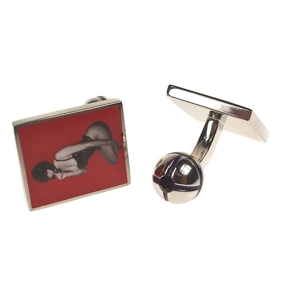 La Morena Lady Cufflinks - MARK STEPHEN