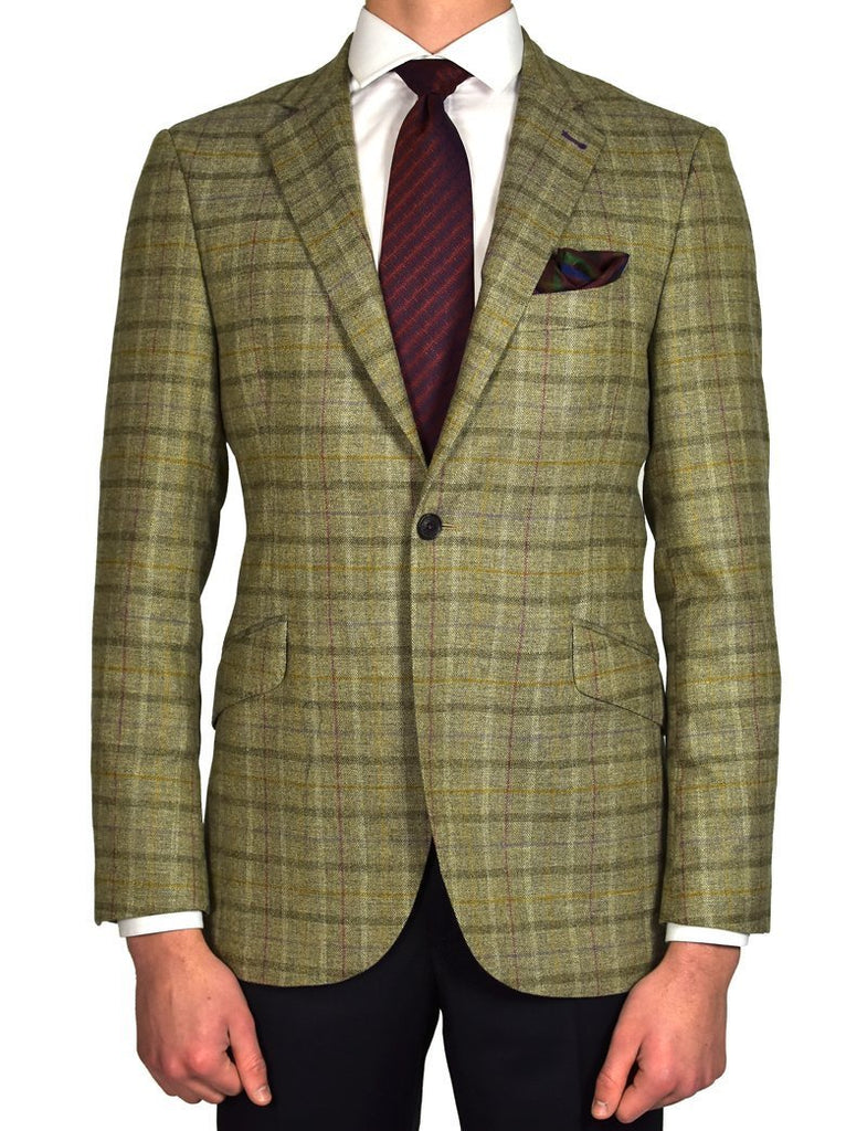 Mix Tweed Jacket - MARK STEPHEN