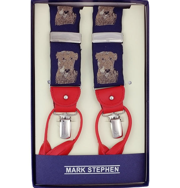 Navy Dog Braces - MARK STEPHEN