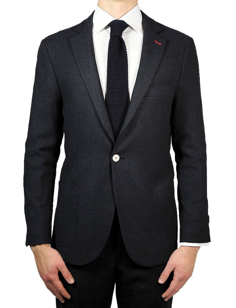 Navy Unlined Jacket - MARK STEPHEN